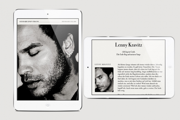 ZEIT MAGAZIN iPad App